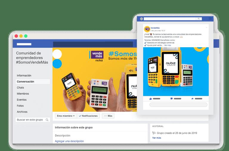 Vendemas niubiz comunidad facebook
