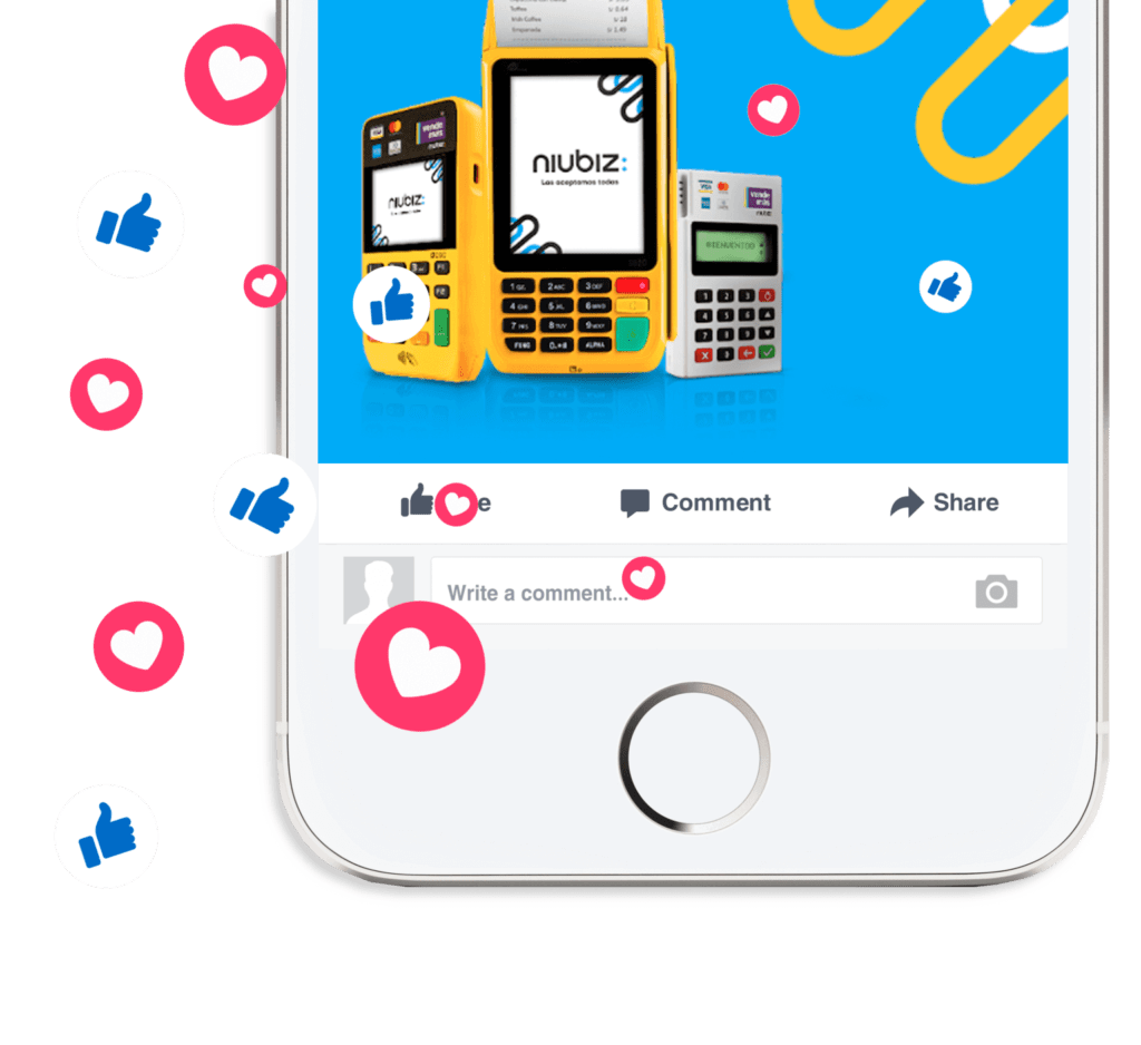 Vendemas niubiz comunidad instagram